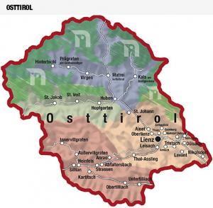 Karte Osttirol